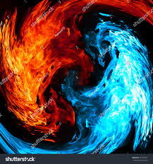 cool blue and red background. Fine And Red And Blue Fire Background And Cool Background