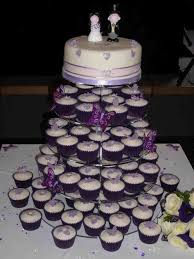 beautiful white and purple wedding cakes. Purple Wedding Cakes Cupcakes Cupcake Tower Mini To Beautiful White And