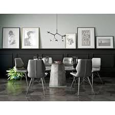 white modern dining room sets. Anastasia Contemporary 7 Piece Dining Set White Modern Room Sets E