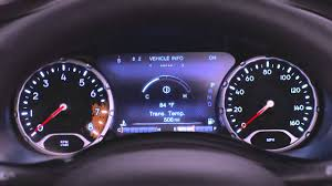 2016 Jeep Renegade Reset Oil Light 2016 Jeep Renegade Evic Instrument Cluster Did