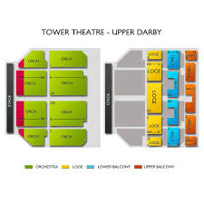 Tower Theater Pa Seating Chart Tower Theater Upper Darby 2019 Seating Chart