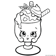 Coloring Pages Shopkins Free Coloring Pages Able Free Download