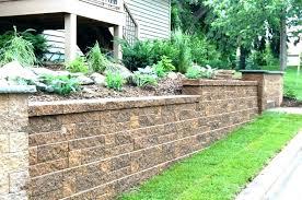 landscape retaining wall ideas backyard