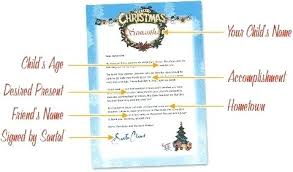 Santa Claus Printables Letter From Template Writing Letters To Santa Claus Free