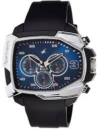 fastrack men blue dial resin band watch t38005pp02 price fastrack men blue dial resin band watch t38005pp02
