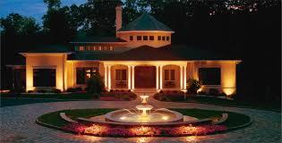Декоративное освещение загородного дома Светзавод подсветка загородного дома