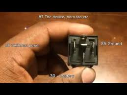 how to wire a 30 40 amp relay how to wire a 30 40 amp relay