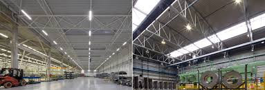 best warehouse lighting solutions continuous run linear lights