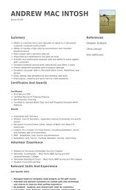 Referee In Resume