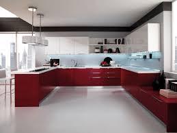 Red Kitchen Floor Tiles Red High Gloss Kitchen Doors Uk Cliff Kitchen