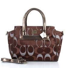 ... norway special offer coach bleecker pinnacle riley logo medium coffee  satchels etv outlet 53cd6 42e7c