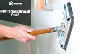 sanding drywall mud without dust sand drywall how to sand drywall without getting dust everywhere sanding
