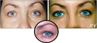 eyebrow enhancement eyeliner