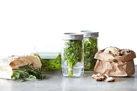 mason jars glass lock storage containers and paper bags are all you need to keep your herb storage containers