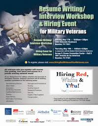 Resume Writing Interview Workshop Lone Star Veterans Association