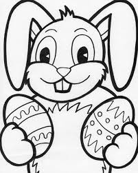 Small Picture Easter Bunny Coloring Pages For Kids family holidaynetguide to