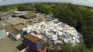 Smarden concerns over mattress mountain eyesore BBC News