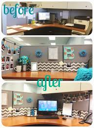 decorating office ideas. Give Your Cubicle, Office, Or Work Space A Makeover For Under $50. Step By Tutorials! Via Thebeetique.blogspot.com Decorating Office Ideas N