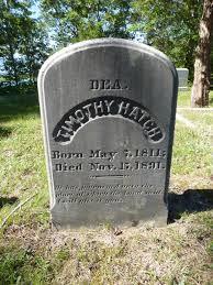 Deacon Timothy Hatch (1811-1891) - Find A Grave Memorial
