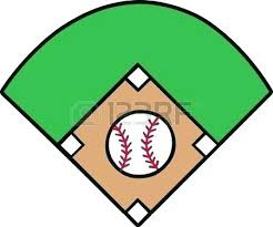 Baseball Field Template Printable Baseball Diamond Template Field Powerpoint Coloring Pages