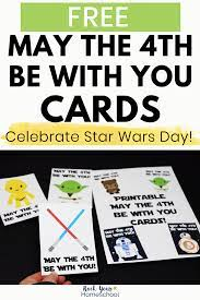 Free Star Wars Cards for May The 4th Be ...