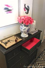 What color to paint furniture Yellow Paint Inside Of Drawers Hot Pink For Fun Pop Of Color My Painted Door 16 Of The Best Paint Colors For Painting Furniture