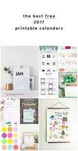 printable calanders the best free 2017 printable calendars fat mum slim