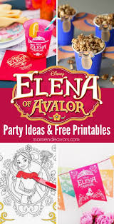 Diy Party Printables Elena Of Avalor Party Ideas Printables Plus A Giveaway
