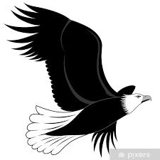 Nálepka Orel Tetování Pixerstick