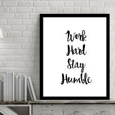 work hard inspiring quotes wall art digital poster canvas art oil paintings picture paintings for living on inspirational quotes wall art with work hard inspiring quotes wall art digital poster canvas art oil