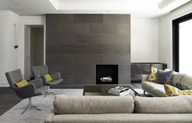 fireplace 16x48 concrete tiles ash