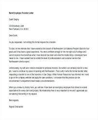 Employee Transfer Letter 6 Employee Transfer Letter Format Sample ...