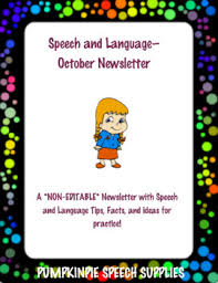october newsletter ideas october newsletter teaching resources teachers pay teachers