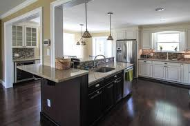 Floating Kitchen Island traditional-kitchen