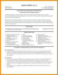Control Systems Engineer Cv Example Resume 7 Engineering Sample