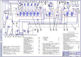 Гидравлическая схема агрегат капитального ремонта скважин iri  Гидравлическая схема агрегат капитального ремонта скважин iri 125 Чертеж Оборудование для бурения нефтяных