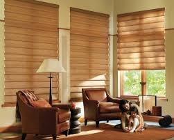 Living Room:Welcoming Small Living Room With Large Window Design Also  Venetian Window Blinds The