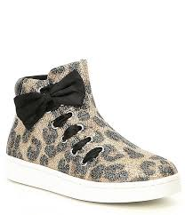 Kenneth Cole Reaction Girls Cosmic Bow Hi Top Sneaker