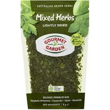 gourmet garden mixed herbs lightly dried image