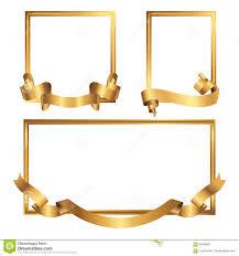 Gold Frame Border Vector Gold Frame Border Vector D Nongzico