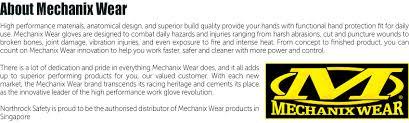 mechanix gloves size chart northrock safety mechanix wear original gloves mechanix wear