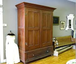 home and furniture enthralling coat closet in armoire antique wonderful on how to build an wardrobe