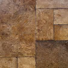 Kitchen Flooring Home Depot Home Decorators Collection Tuscan Stone Bronze 8 Mm Thick X 16 In