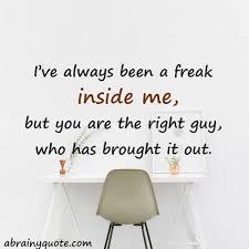 Freak Quotes Abrainyquote