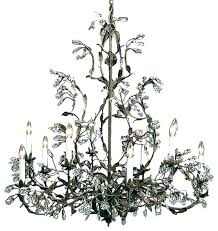 crystal and iron chandelier chandeliers cast iron chandelier lovely black wrought iron chandelier with crystals wrought