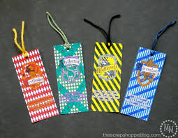 harry potter house coloring bookmarks
