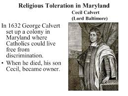 Image result for George Calvert died and was succeeded by his son Cecilius,