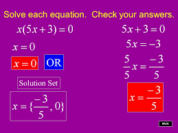 solve each equation check your answers