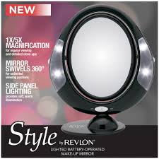 revlon lighted battery operated make up mirror at low s in india amazon in