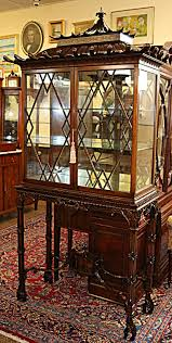 Chippendale China Cabinet Antique Cabinets Bookcases